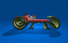 """2 prim """"Chameleon Daydream Couch"""" scripted, any texture (mod, copy)"""