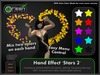 ●GD● Hand Effect 'Stars 2' [Multi Color, Type/Walk/Fly/Dance] Customizable Dancing Particle Hands Emitter Effect