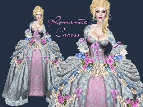 Boudoir -Romantic Caress Baroque Gown