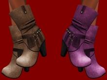 PROMO ::JIM:: Mesh Cowboy Boots - 4 Textures