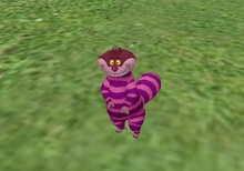ARM - A Rigged Mesh - The Cheshire Cat!
