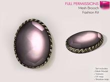 Full Perm Mesh Brooch - Fashion Kit