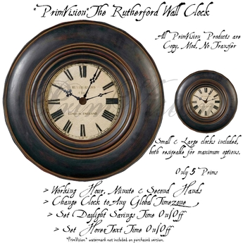 *PV* The Rutherford Clock