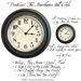 *PV* The Mountbatten Wall Clock