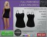 -TD- TEMPLATES - Ladies MESH Mini-Dress * FULL PERMS *