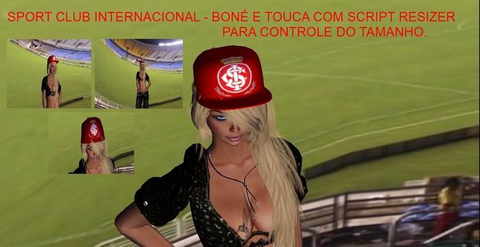 Second Life Marketplace Sport Club Internacional Touca De La E Bone