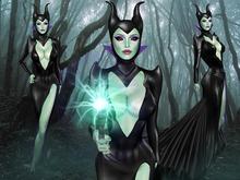 Boudoir Halloween -Meleficient-Witch Avatar