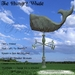 *PV* The Hungry Whale Weather Vane