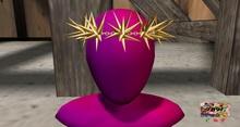 [7891.] - Neef Head Piece - Gold (W\Resize)