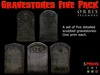 Gravestones Five Pack
