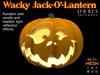Wacky Halloween Pumpkin Jack-O'-Lantern - Mesh