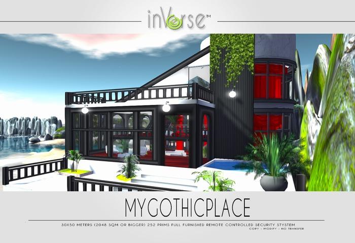 MYGOTHICPLACE multianimated full furnished house OVER 250 HQ ANIMATIONS