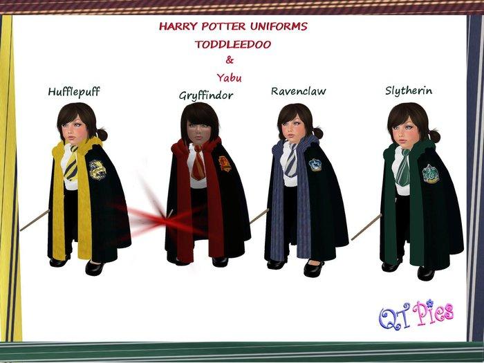 ~QT Pies~ Gryffindor Toddleedoo  & Yabu