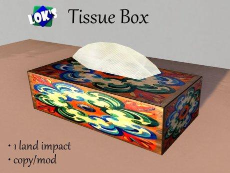 *Lok's* Tissue Box