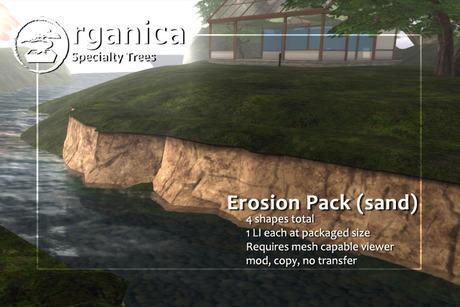 [ Organica ] Erosion Pack (sand)