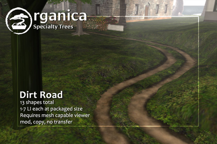 [ Organica ] Dirt Road pack
