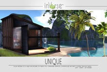 UNIQUE - EXtreme low prims full furnished house skybox