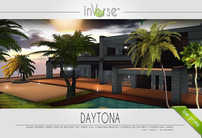 DAYTONA - full furnished house skybox  - 500 ANIMS