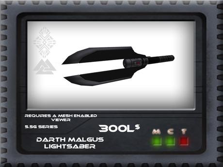 [CrashD-Valr] Darth Malgus Lightsaber