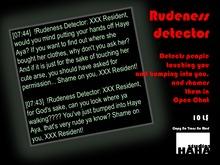 !Rudeness Detector