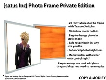 [satus Inc] Photo Frame Private Edition