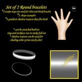 Round 2 sculpty bracelets boxed