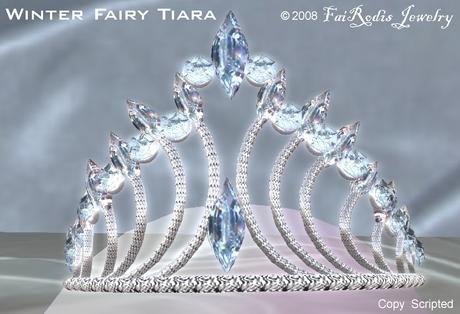 FaiRodis Tiara Winter Fairy