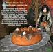 Aphrodite Autumn Pumpkin and chocolate pie- Halloween cake!