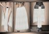 GeWunjo : ALICE white skirt