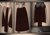 GeWunjo : ALICE brown skirt