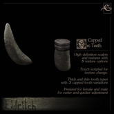 .Eldritch. Orc Teeth - Capped