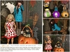 "Aphrodite ""My lil monster"" Halloween gift basket for kids"