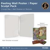 Trowix - Peeling Wall Poster / Paper Sculpt Pack