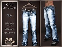 *X*plosion X*Bolt Mesh Pants (Blue)