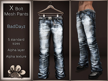 *X*plosion X*Bolt Mesh Pants (BadDayz)