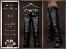 *X*plosion X*Bolt Mesh Pants (Black)