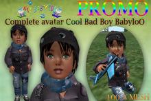 My BabyloO: Complete Cool BAd BoY Avatar ***MESH***