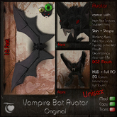 Vampire Bat Avatar UNISEX