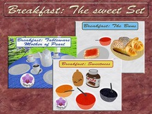Breakfast: The Sweet Set