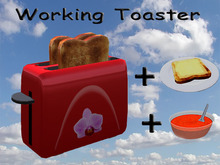Working Toaster Red