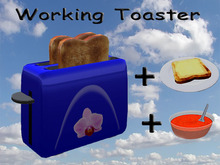 Working Toaster Blue