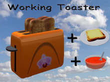 Working Toaster Orange