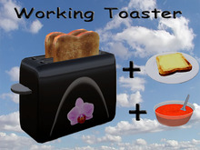 Working Toaster Black