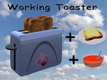 Working Toaster Light Blue