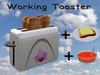Working Toaster White