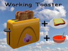 Working Toaster Yellow