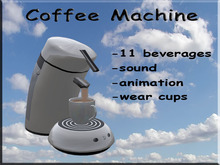 Coffee Machine White