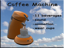 Coffee Machine Orange