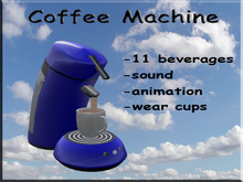 Coffee Machine Blue