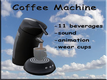 Coffee Machine Black